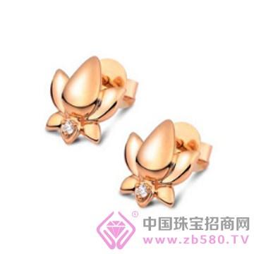 莲七珠宝-钻石耳钉02