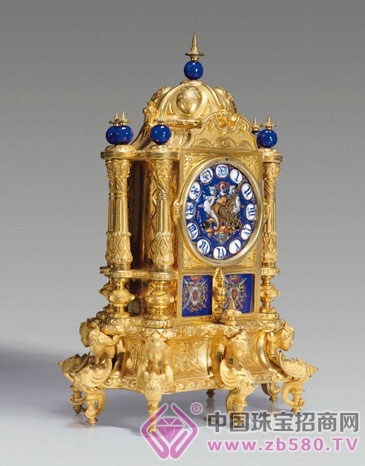 清代四大古董钟表