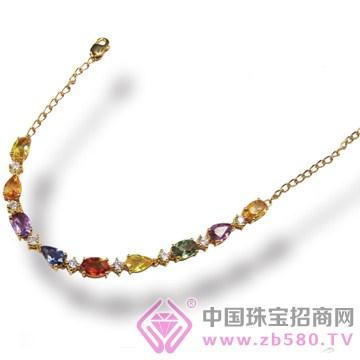 彩度珠宝-宝石手链01