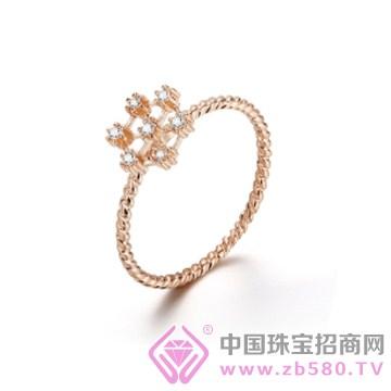 �琦珠��-�y雪素裹戒指