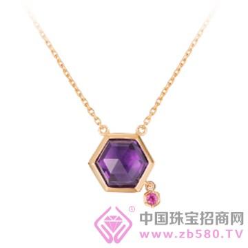 范琦珠宝-紫霞吊坠
