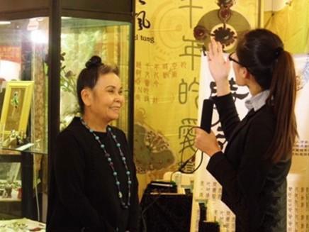 访台湾珠宝首饰设计师张樱觉
