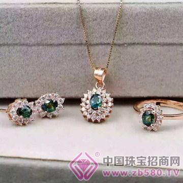 泰盛珠宝-蓝宝套装
