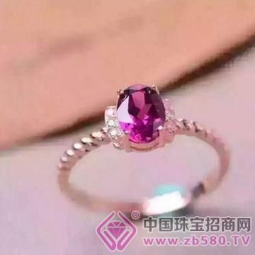 泰盛珠宝-镁铝石榴石戒指