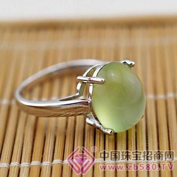 泰盛珠宝-葡萄石戒指