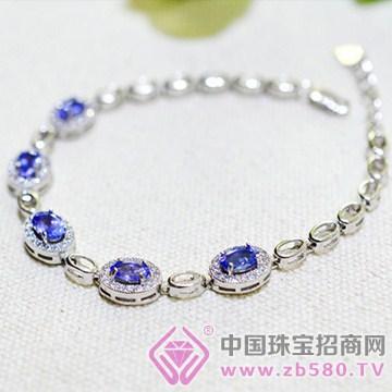泰盛珠宝-坦桑石手链