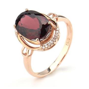 上好珠寶-鎂鋁石榴石戒指