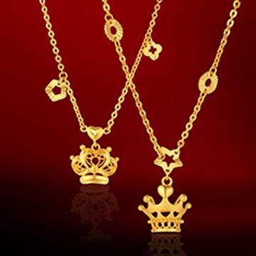 金龙珠宝--皇冠项链
