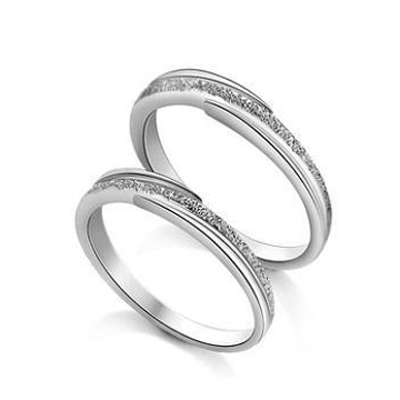 嘉尼银饰-时尚情侣戒指