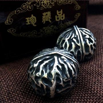 泉聚工艺品-银核桃