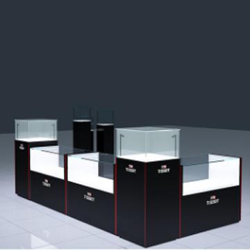 品诚-高档木质烤漆-手表玻璃展示柜