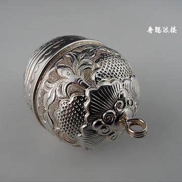 晋福银楼-925纯银纯手工铃铛-宝宝