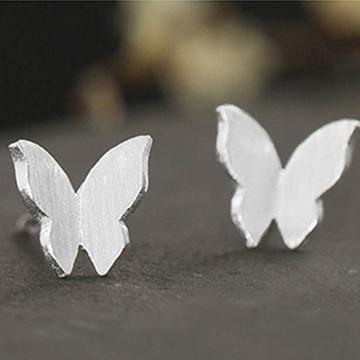 老银铺-蝴蝶耳夹