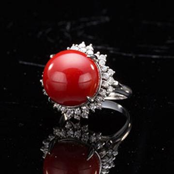 御福祥-珊瑚戒指
