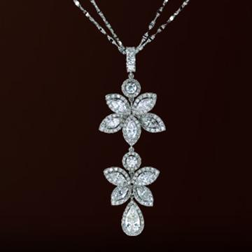 伊势珠宝-永恒系列钻石吊坠