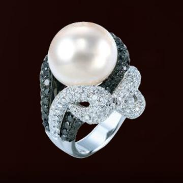 伊势珠宝-南洋珍珠戒指