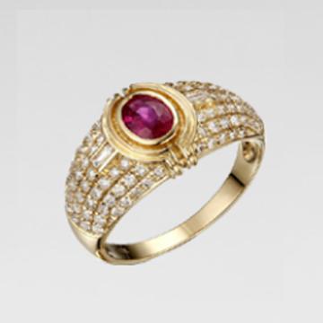 甄彩珠��-�r尚��石戒指