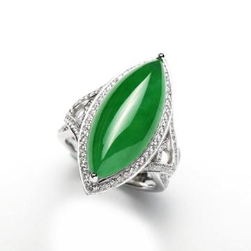 �F�y玉-�r尚造型玉石戒指