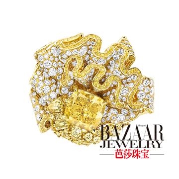 芭莎珠宝Soie-Dior-Fronce-Diamant