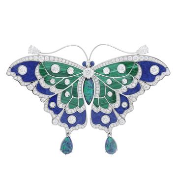 芭莎珠宝梵克雅宝Papillons蝴蝶高