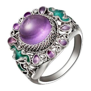 老作坊-紫水晶戒指