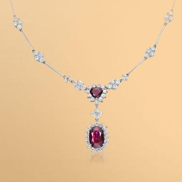 景福珠宝红宝石吊坠