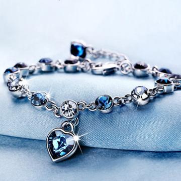 宝石城-静风格十二星座水晶手链