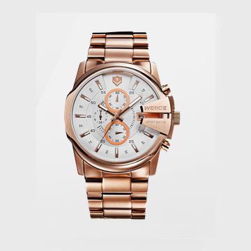 威得钢带手表WG-93003
