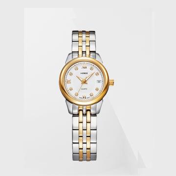 威得钢带手表WG-93009