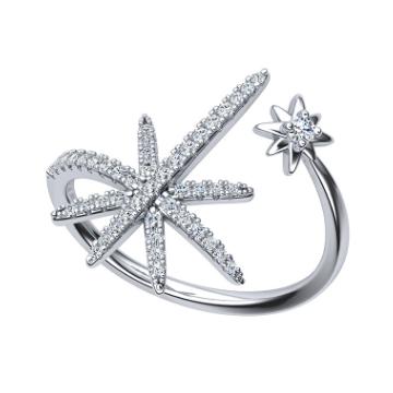 GOSING-时尚星星戒指