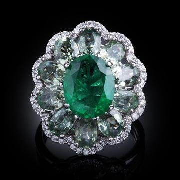 瑷美珠宝-精美宝石戒指