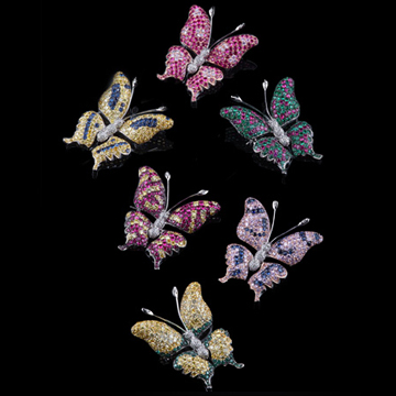 瑷美珠宝-昆虫系列蝴蝶