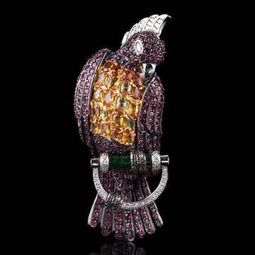 瑷美珠宝-原野系列鹦鹉