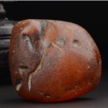 恒��琥珀精品�t皮琥珀大原石