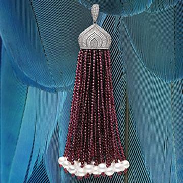 爱琳珠宝宝石吊坠