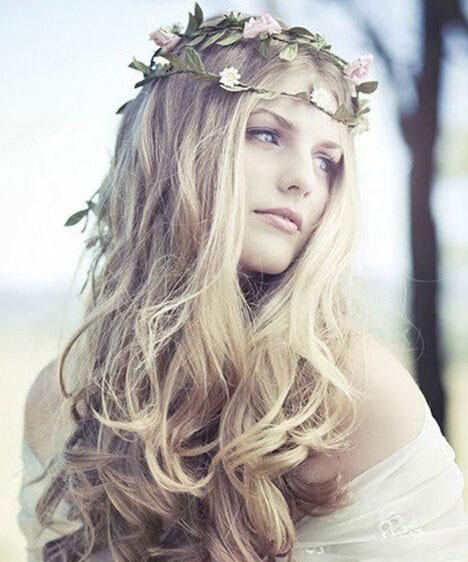 2015长发新娘发型 浪漫唯美十足