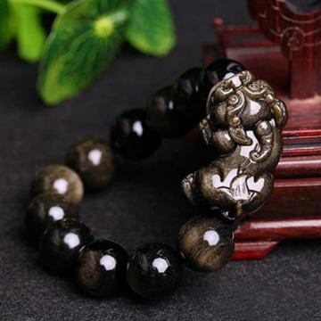 念菩堂-金曜石貔貅手链