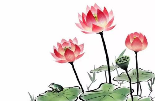水陆草木之花,可爱者甚蕃.晋陶渊明独爱菊.自李唐来,世人盛爱牡