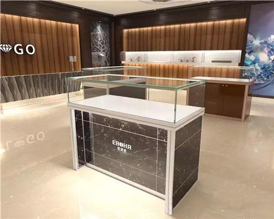 鸿钛大理石玻璃展示柜新品上市