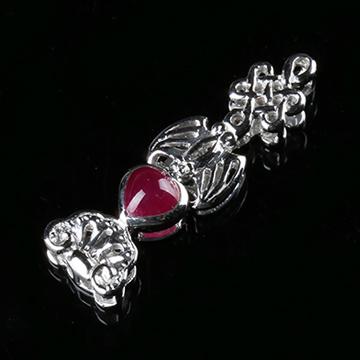 我爱珠宝城红宝石称心如意挂件