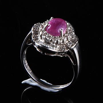 我爱珠宝城红宝石戒指