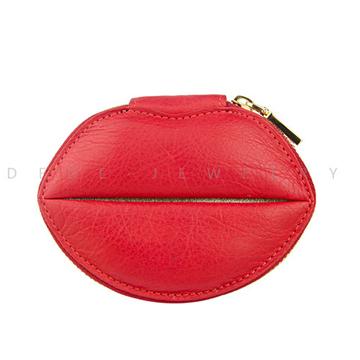 迪迪饰品时尚红唇包包