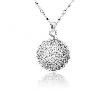 火星银饰银饰球形吊坠