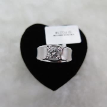 聚奢网钻石小鸟-铂900-0.50ct钻石