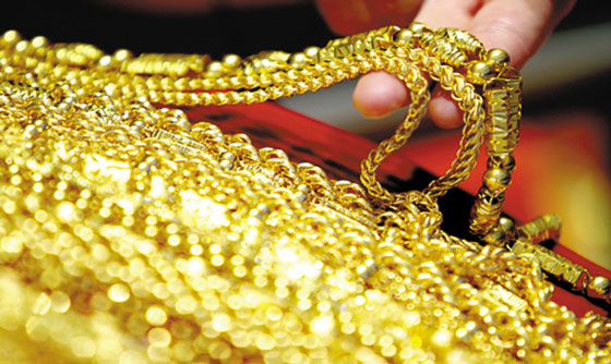 黄金成春节购物热宠 有人一次性购买50公斤的投资金条