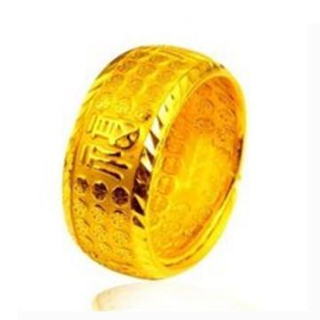 存金牛-【福】戒指
