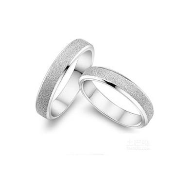 同和裕银楼银饰时尚情侣戒指