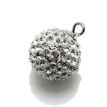 同和裕银楼银饰时尚圆球吊坠