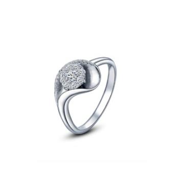 黄金珠宝投资-时尚K金系列优雅戒指