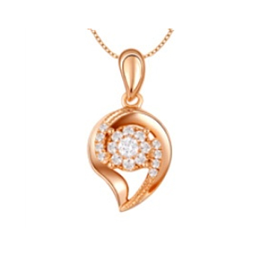 黄金珠宝投资-时尚吊坠系列精美项